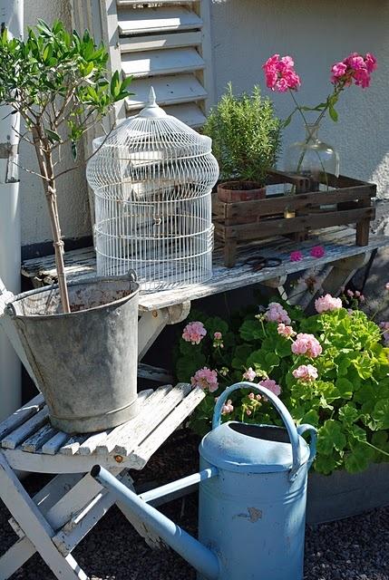 Il giardino del brocante idee per arredare la terrazza for Giardino in terrazza