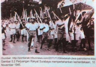 Sejarah Perjuangan  Menuju NKRI