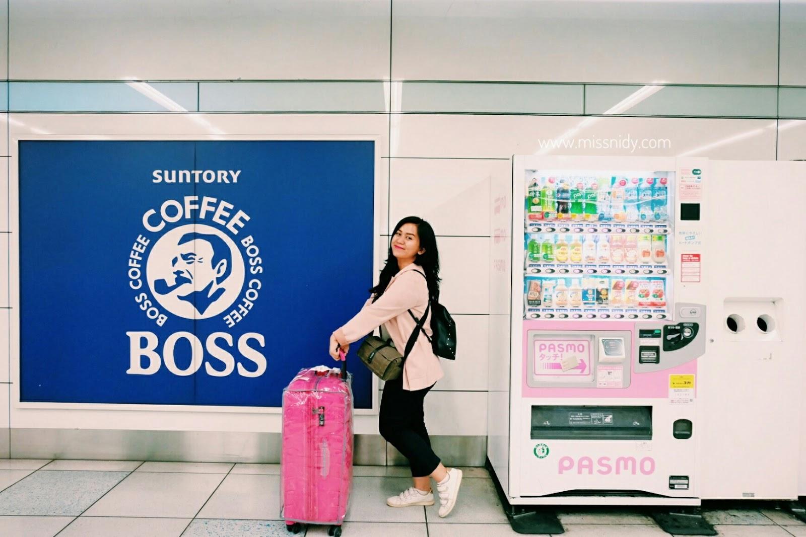 pengalaman travelling ke jepang mendarat di haneda