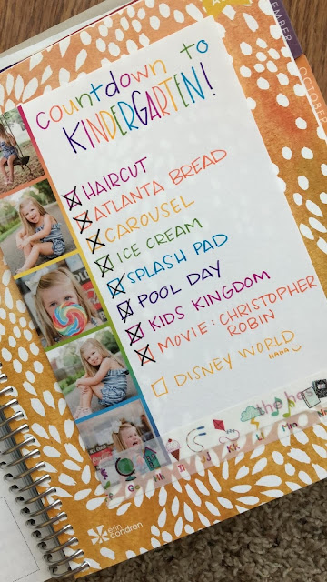"""Countdown to Kindergarten"" - A fun and memorable way to send your child off to Kindergarten"