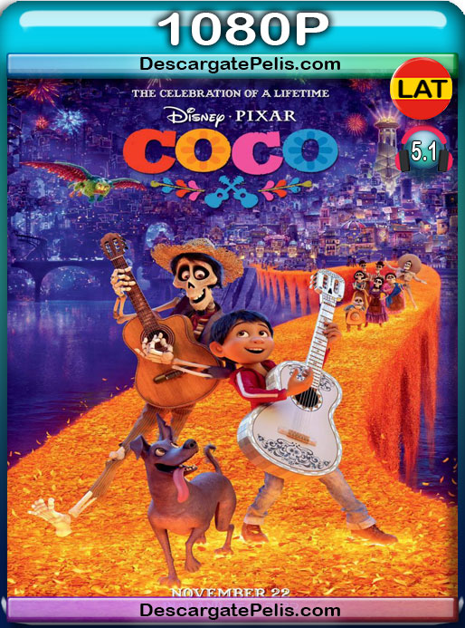 Coco (2017) 1080P BRrip Latino – Ingles