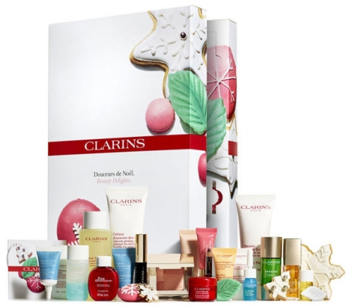 Clarins beauty Advent calendar 2016 calendrier de l'avent Adventskalender