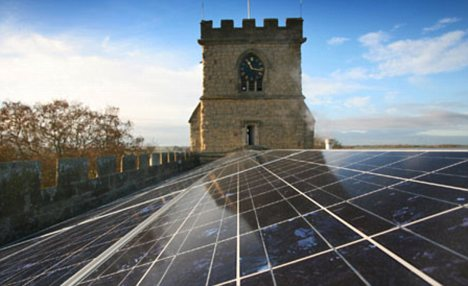 Eco-Themepics - Solar power from 'high places'