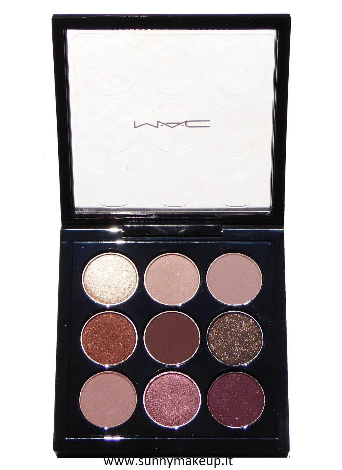 Mac Eyes On Mac Summer 2016 Makeup Collection: Burgundy Times Nine: Swatch E Review