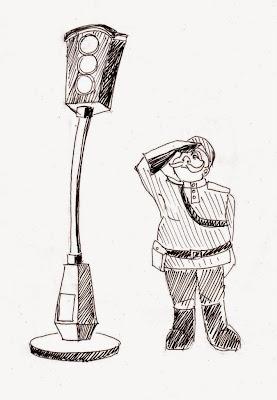 """Эвелина Васильева. """"Памятник первому светофору"""""""
