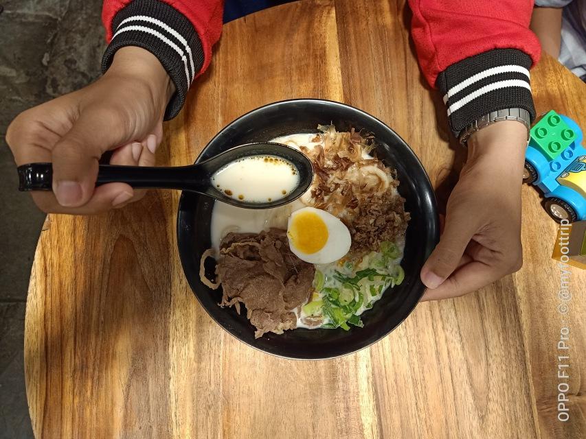 Hasil foto makanan dengan OPPO F11 Pro