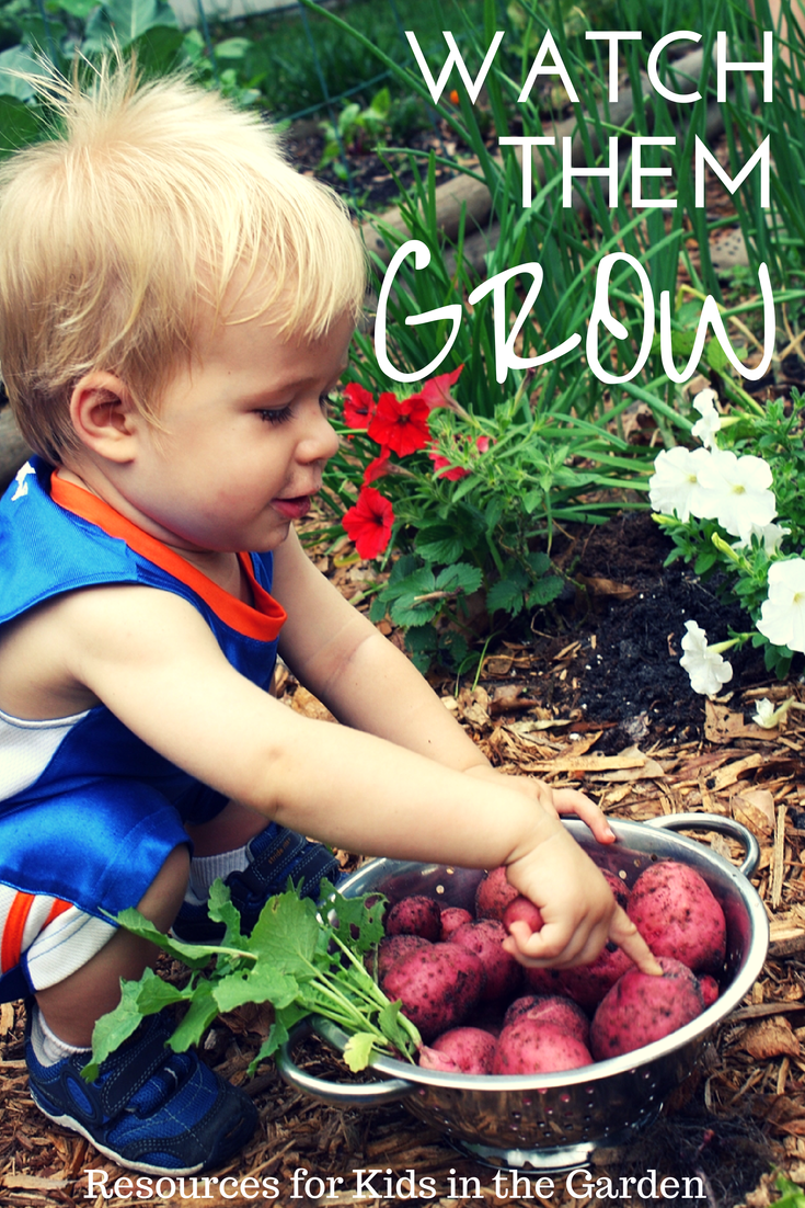Kids in the Garden, a collection of resources for parents and teachers