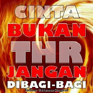 dp bbm thr lucu cinta bukan thr