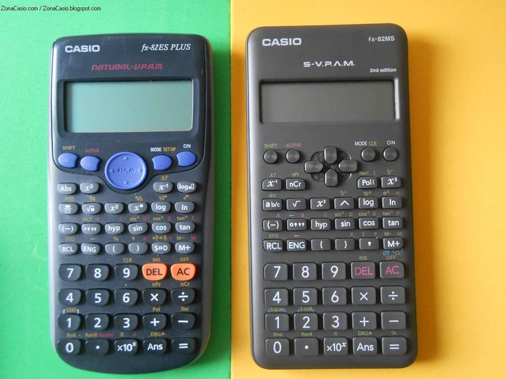 337c31a3731c Zona Casio  Comparativa  ponemos a la Second Edition frente a la fx ...
