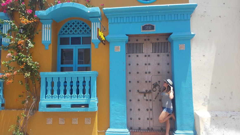 Ruas da cidade amuralhada - Cartagena