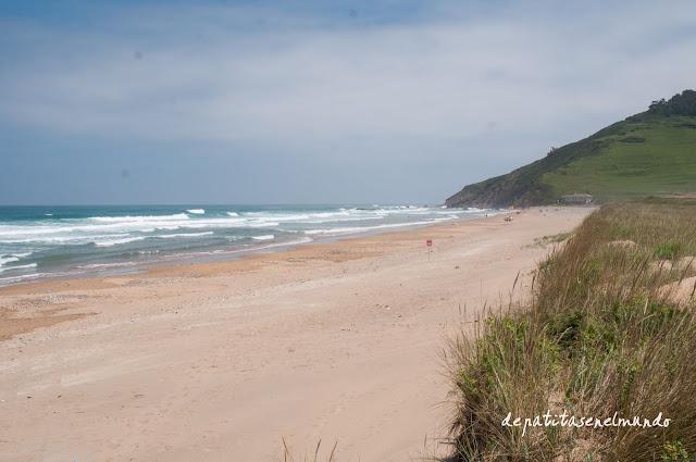 Playa de Vega en Ribadesella Asturias