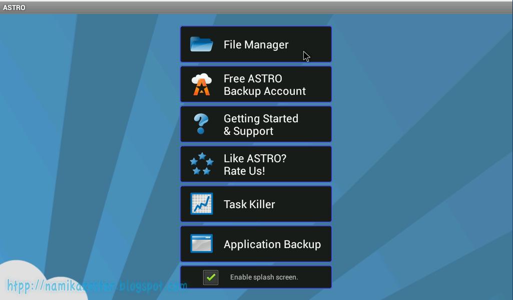 """... BBM apk maka saya buka di file manager astro """" /mnt/shared/BBM_apk"""