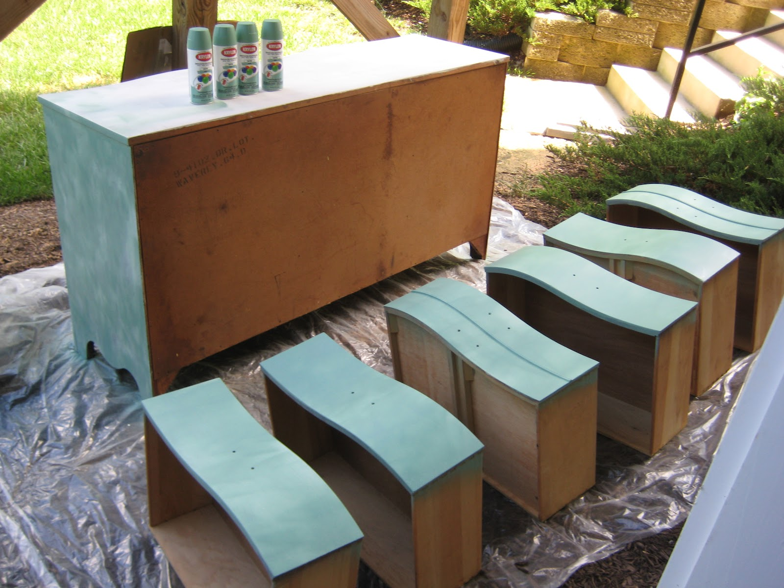 Painted Bedroom Furniture Before And After Leaf And Letter Handmade September 2012