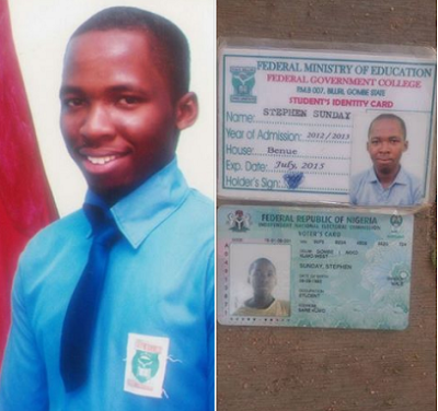 WHAT A PAINFUL CHRISTMAS!! SAD DETAILS OF HOW A YOUTH CORPER, YOUNG BOY WHO JUST GOT UNIVERSITY ADMISSION DIED IN GOMBE STATE (PHOTOS)