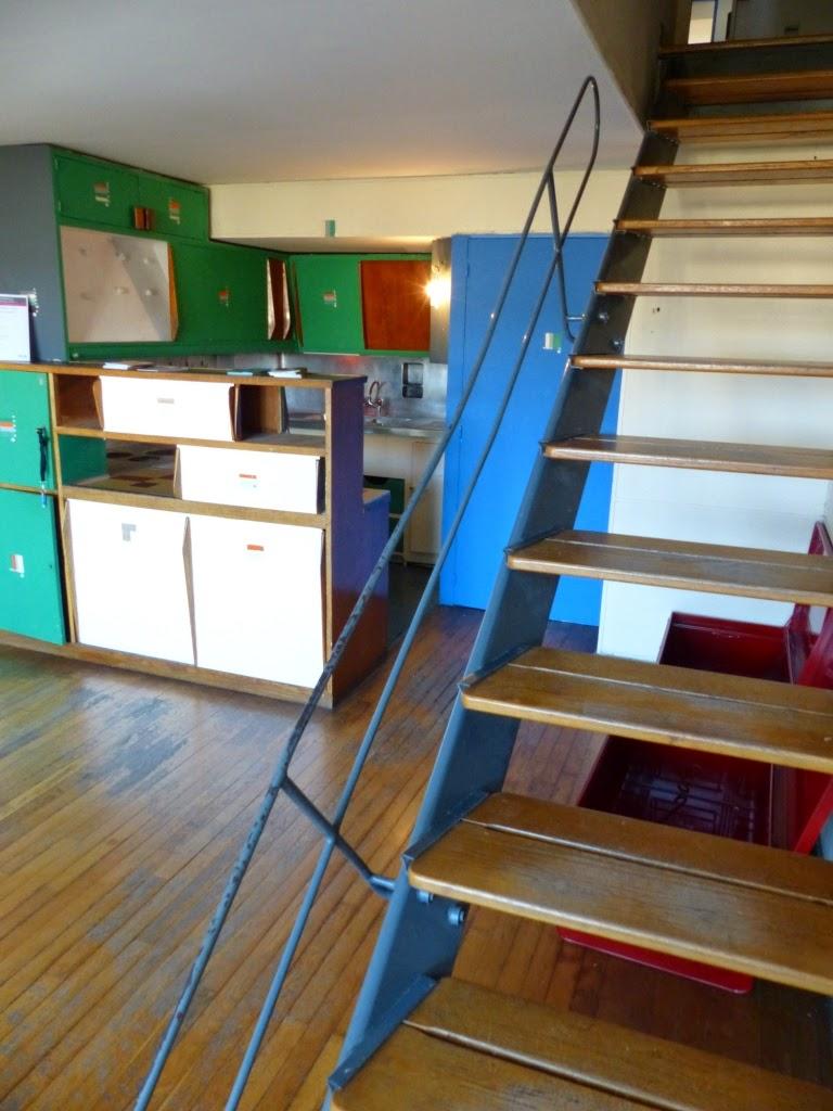 les arts plastiques au lyc e comte de foix hda la cit radieuse de le corbusier marseille. Black Bedroom Furniture Sets. Home Design Ideas