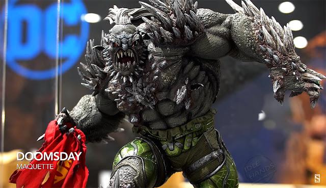 SDCC 2018 Sideshow DC Comics Doomsday Maquette