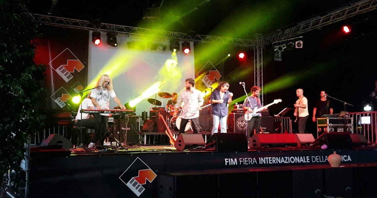 Paolo Siani feat Nuova Idea al FIM 2016