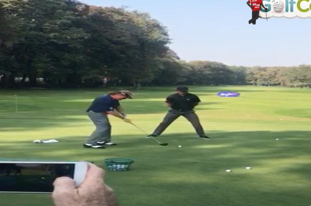 Jimenez Golf Funny Video