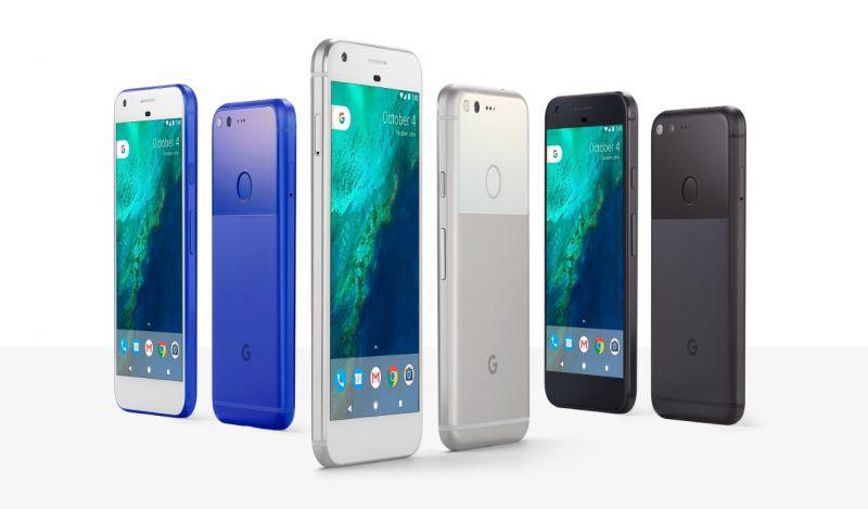 Смартфоны Google Pixel и Google Pixel XL