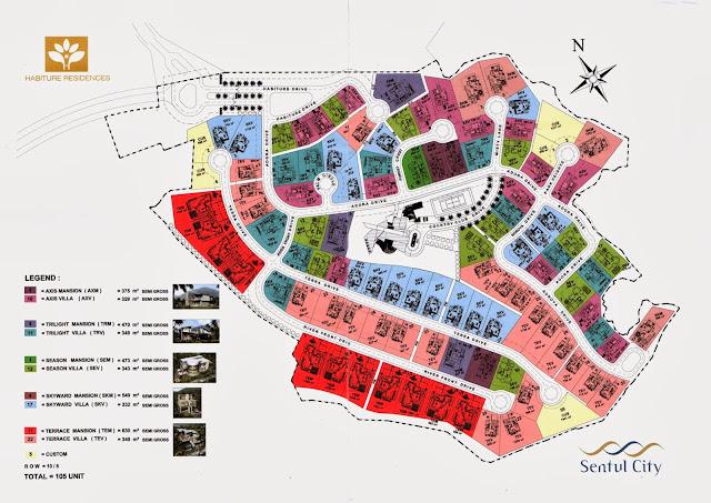 site-plan-properti-Habiture-Residence-Sentul-City