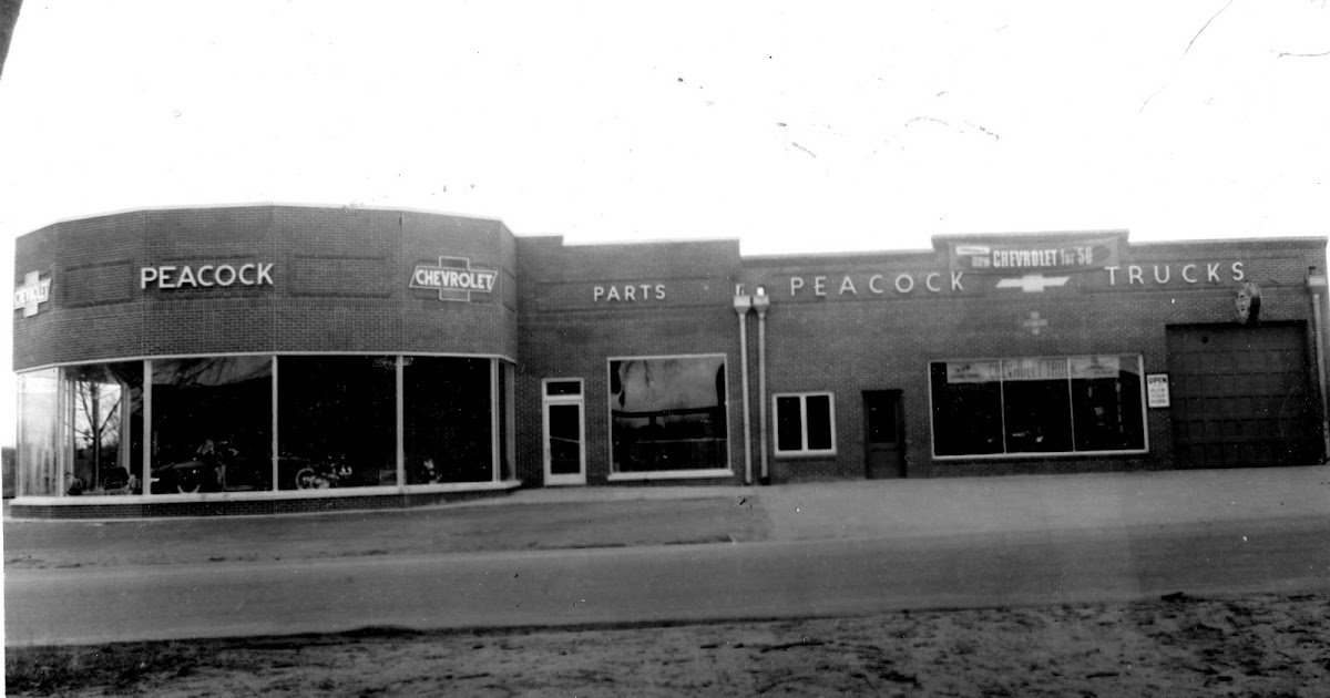 PIECES OF OUR PAST: IMAGES OF OUR PAST - PEACOCK CHEVROLET ...