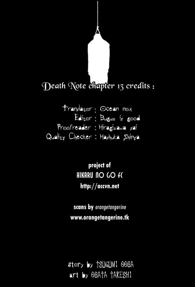 Death Note chapter 013 trang 20