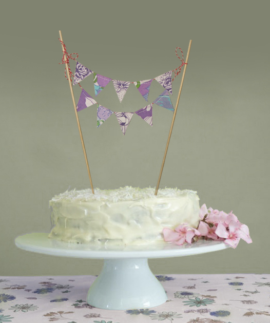 Vintage Cake Toppers Birthday
