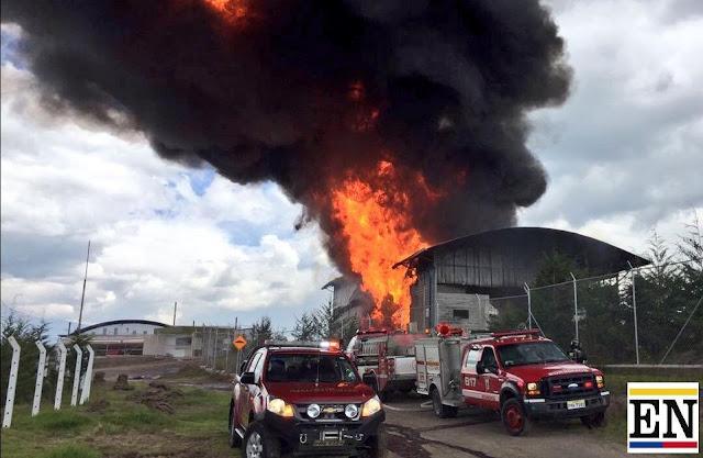 incendio en incineros itulcachi