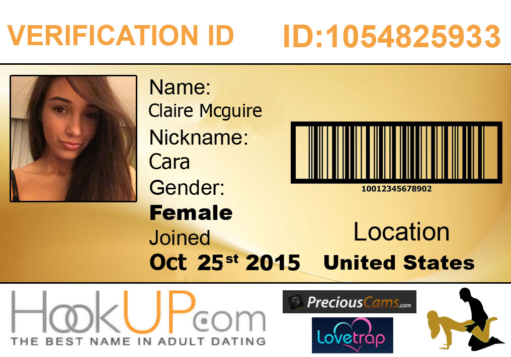 fake id hookup The site stops short of saying these are fake people, but does admit that many profiles are for 'amusement only' but the true genius of the.