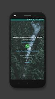 Fouad WhatsApp v7.60 Samsung Edition