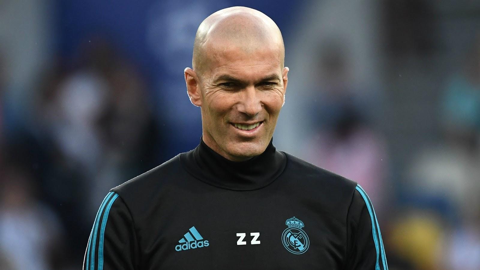 Kembali Latih Real Madrid, Ini 4 Pemain Baru Incaran Zinedine Zidane
