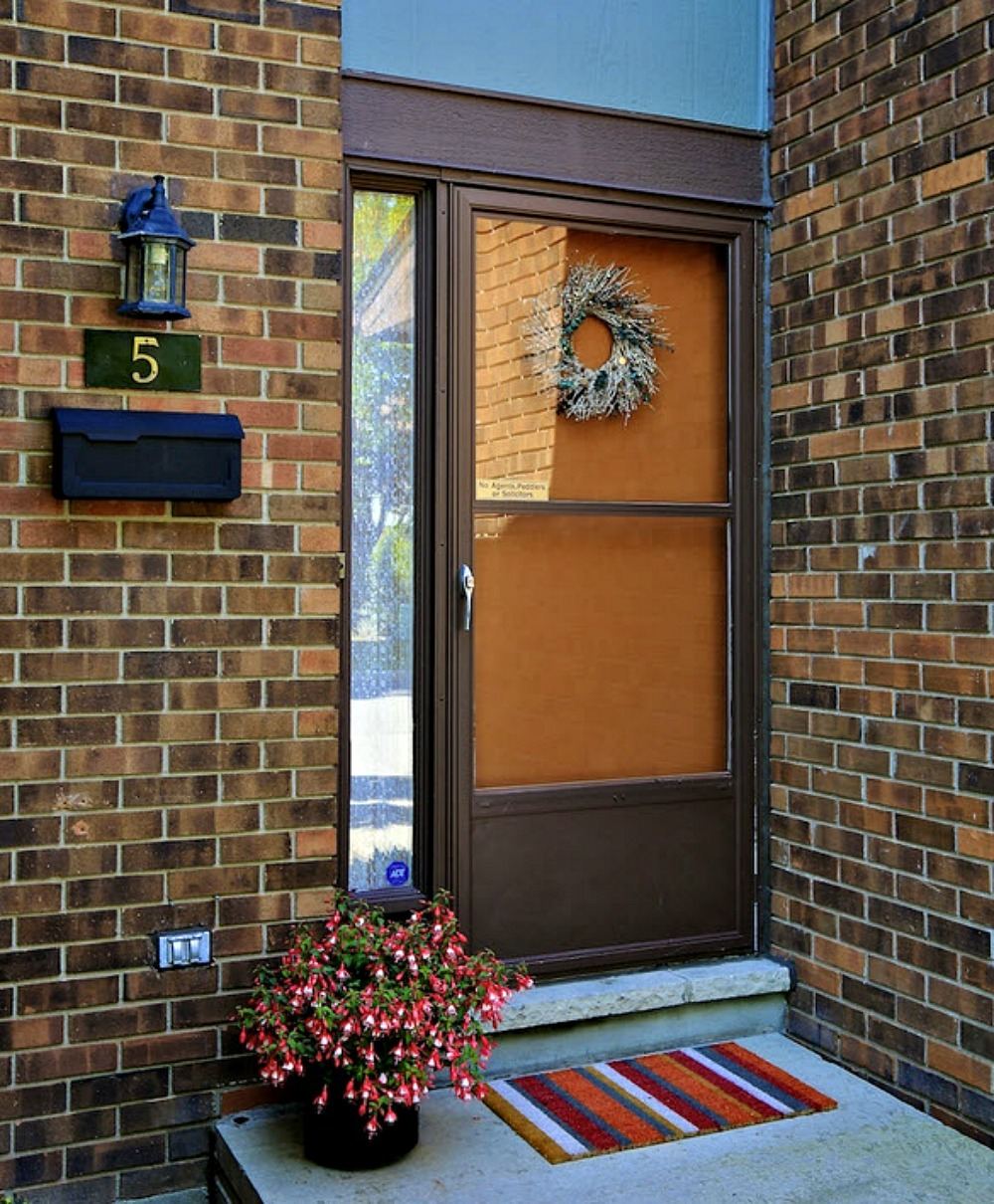 Adding curb appeal with strict condo rules