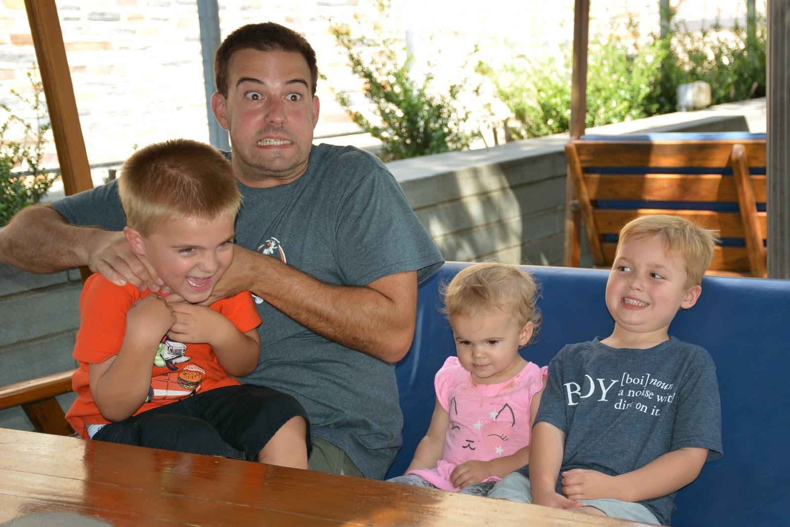 Stephen and kids