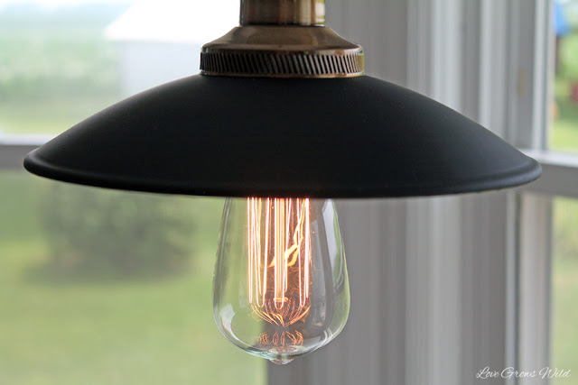 Rustic Edison-style Pendant Light