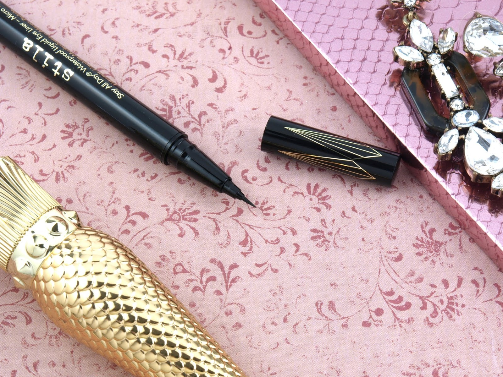 Stila | Stay All Day Waterproof Liquid Eye Liner - Micro Tip: Review and Swatches