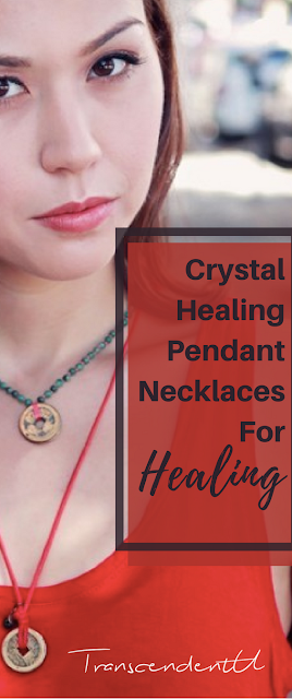Crystal healing pendants