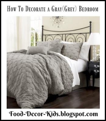 Decorate a Grey Bedroom (or a Gray Bedroom)