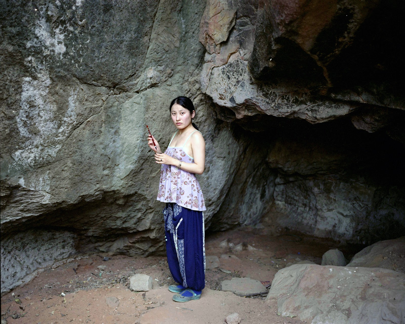 SAROJINI LEWIS: Evocations beside the Cave - video