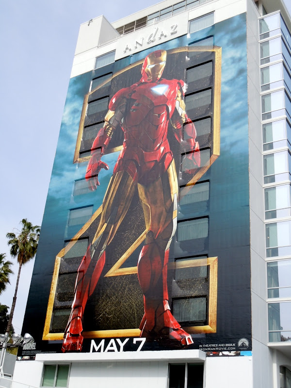 Iron Man 2 billboard
