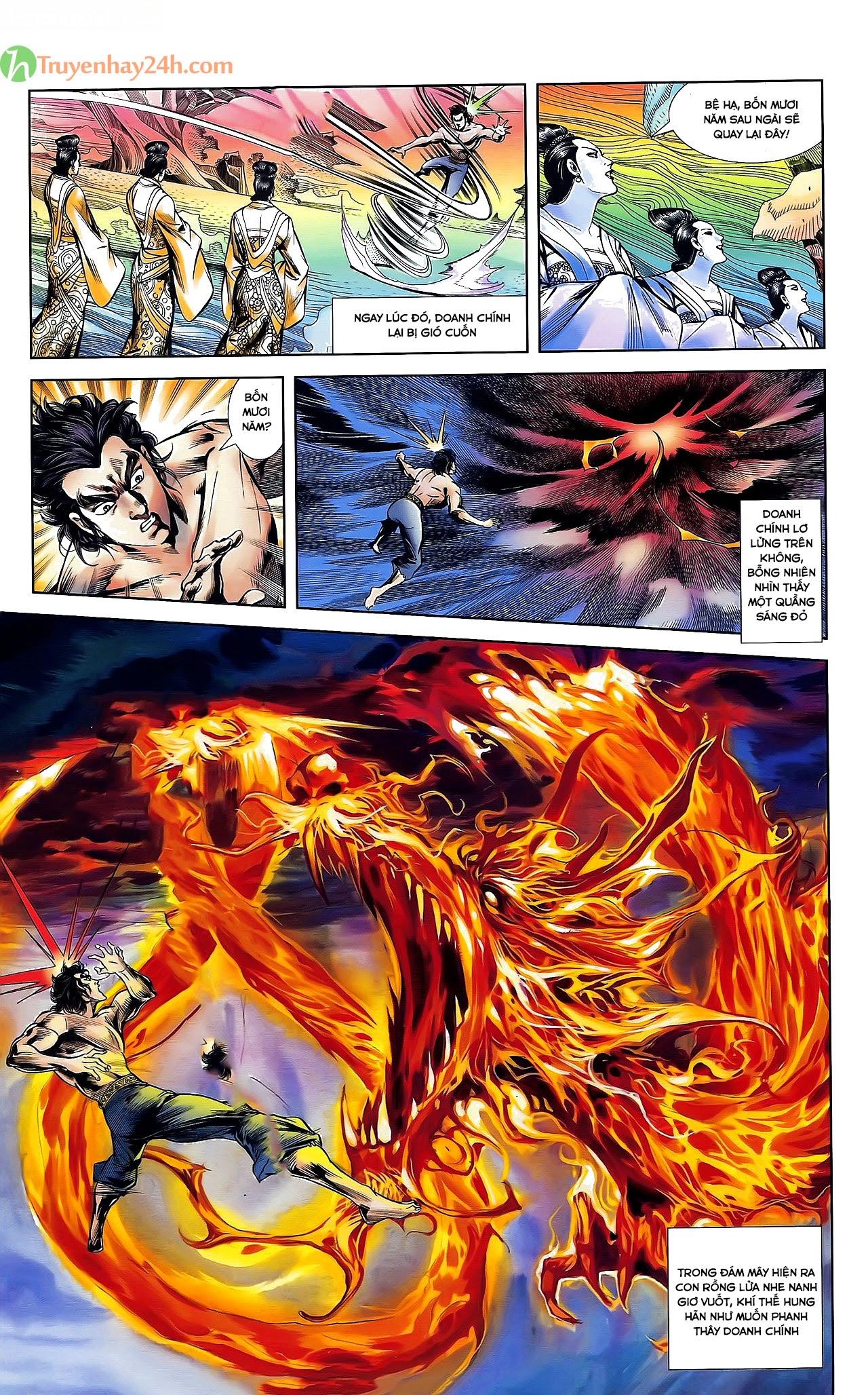 Tần Vương Doanh Chính chapter 30 trang 22