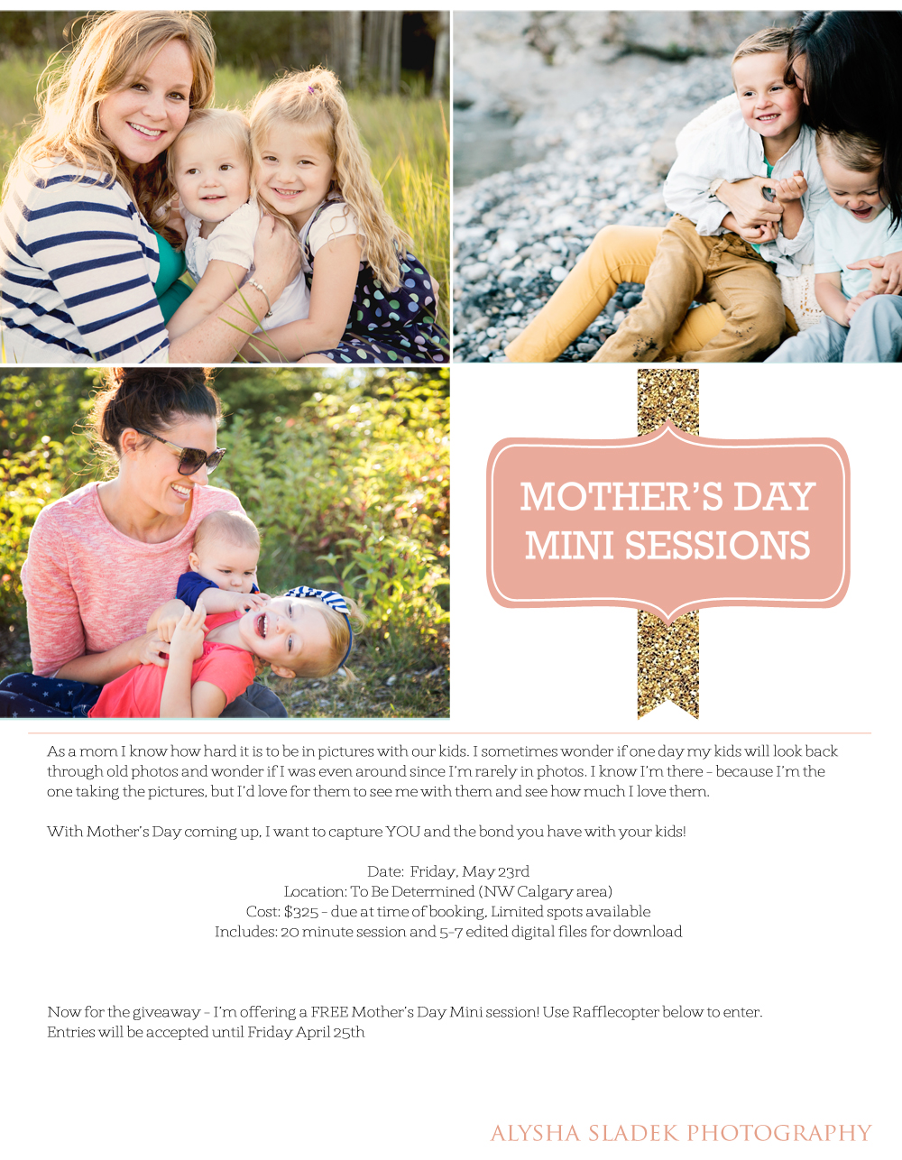 mothers day session giveaway