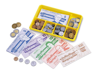 Learning Resources Canadian Currency-X-Change Activity Set
