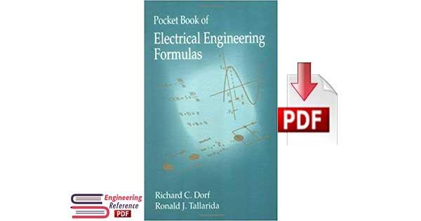 Download Pocket Book of Electrical Engineering Formulas by Richard C. Dorf and Ronald J. Tallarida PDF