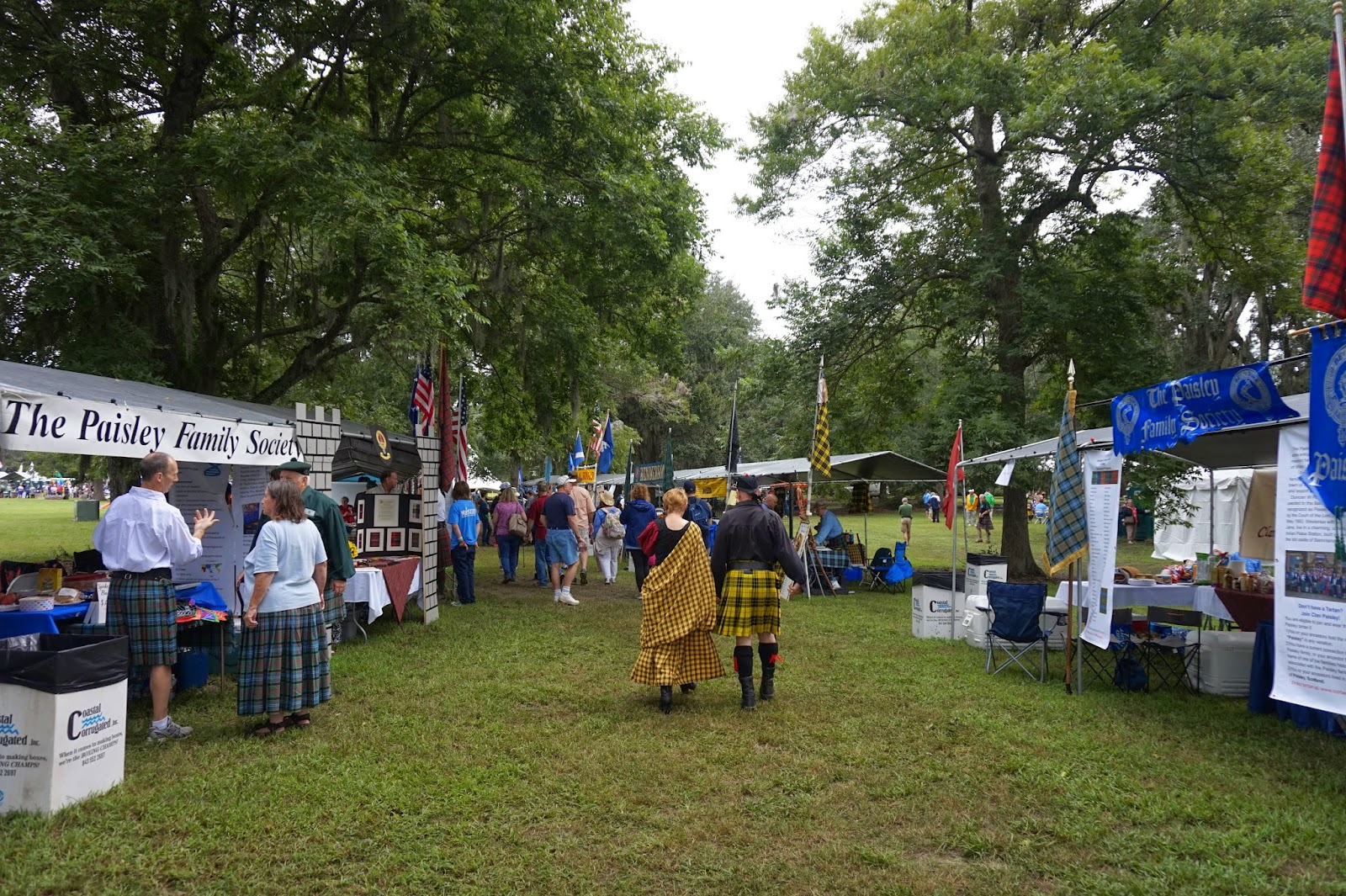 Charleston Scottish Games 2014