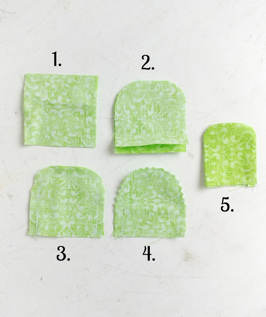 Sewing Tutorials: How to Make Fabric Carrots, a tutorial featured by top US sewing blog, Ameroonie Designs: fabric leaves for your stuffed carrots add a bit of whimsy to your project