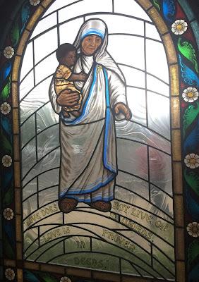 mother teresa, st. bernard's madison