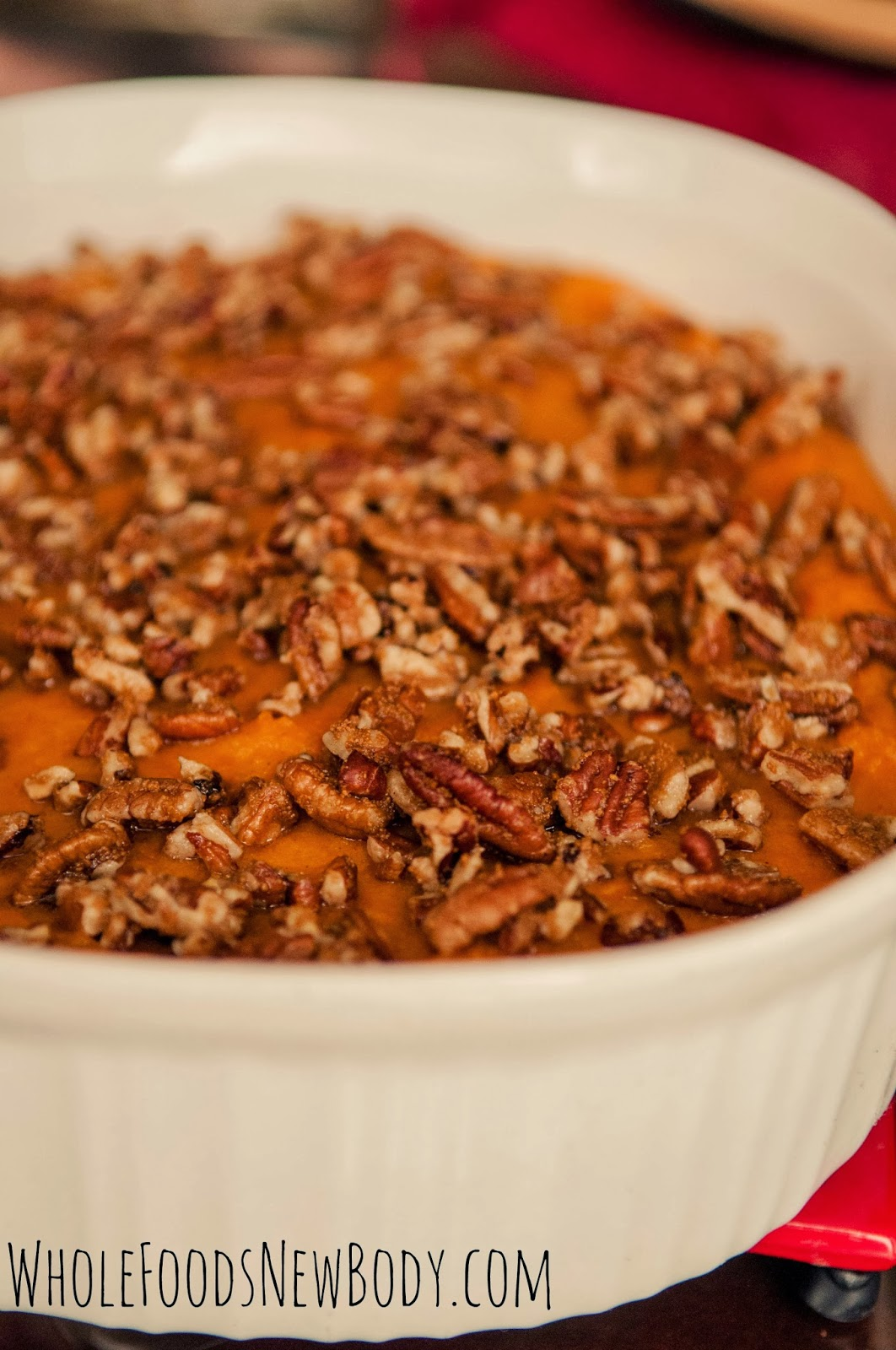 Whole Foods New Body Clean Eating Sweet Potato Souffle