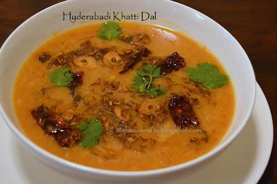 Hyderabadi Khatti Dal