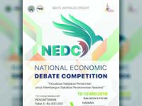 Lomba Debat Nasional NEDC 2018 di UM