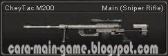 Senjata Point Blank CheyTac M200